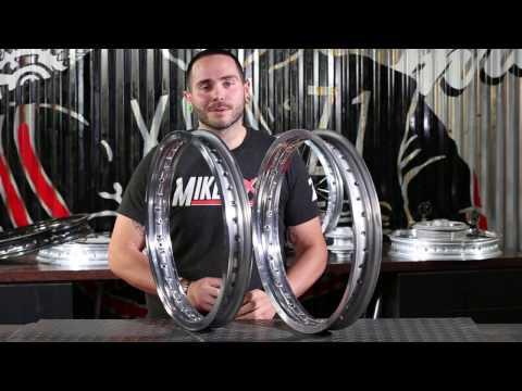 Mikes XS - Yamaha XS650 Rim Comparison Between H Profile Rim and WM Profile Rim