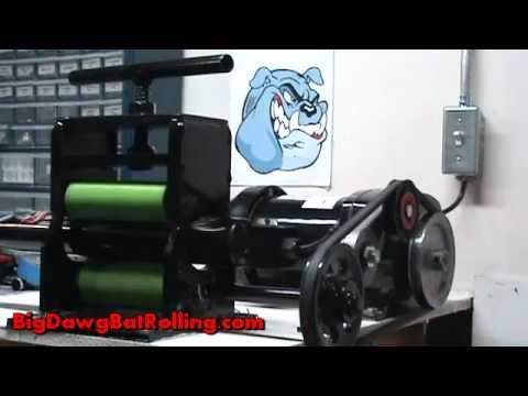 bat roller machine