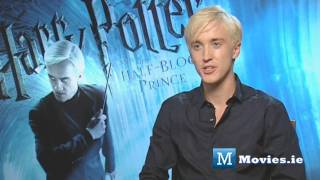 Draco Malfoy (Tom Felton) talks about the FINAL Harry Potter