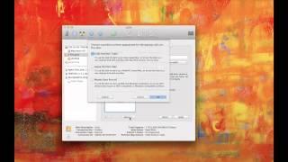 Installing a LaCie 1 TB Hard Drive on a Mac.