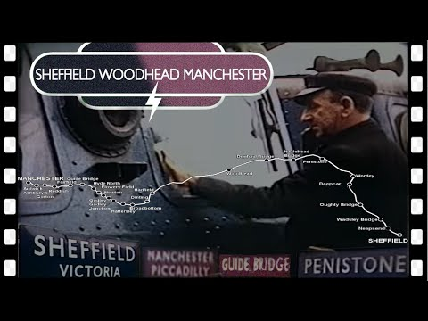 Sheffield-Woodhead-Manchester in 1965 FROM THE CAB
