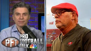 Bruce Arians credits Tom Brady for Bucs' Rob Gronkowski signing | Pro Football Talk | NBC Sports