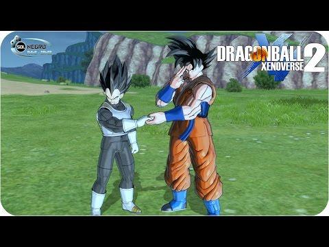 Dragon Ball Xenoverse 2 Full Movie: Beerus and Golden Frieza DB Super Saga Cut Scenes #5