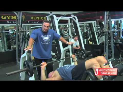 Instructional Fitness Decline Bench Press