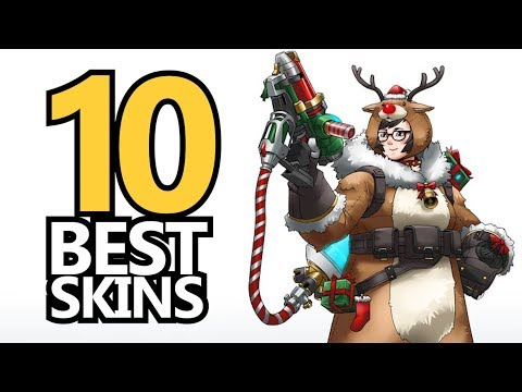 TOP 10 Overwatch Holiday Fan Skins!
