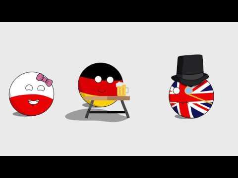 Countryball animation: Poland tries