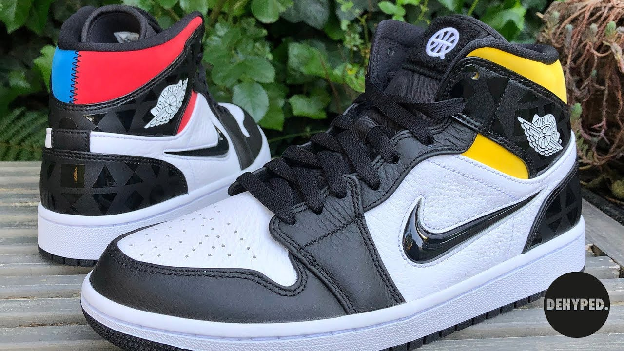 outlet store attractive price utterly stylish Dehyped shows you the Nike Air Jordan 1 Mid Quai54
