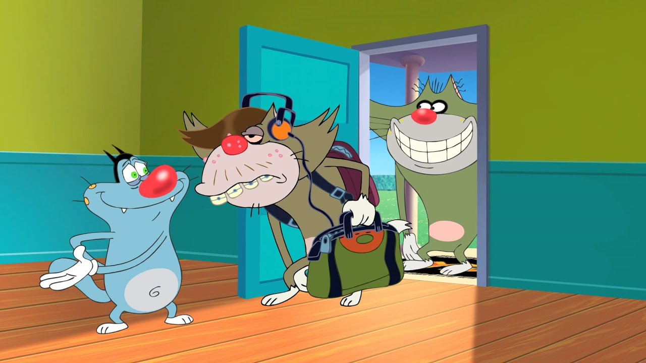 Oggy and the Cockroaches - Jack's Nephew (S04E24) Full ...  Oggy and the Co...