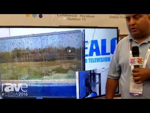 CEDIA 2016: SEALOC Demos Customized 4K Outdoor Samsung TV
