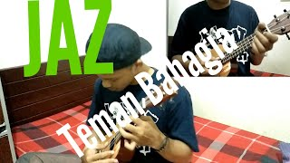 Download JAZ Teman Bahagia || Cover Ukulele