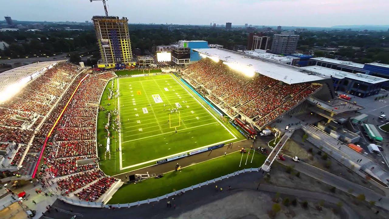 Ottawa Redblacks Game 5 At Td Place Aerial Video Youtube