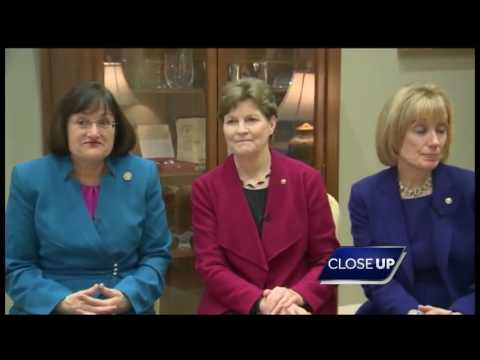 WATCH: First all-women, all-democratic delegation on Close Up