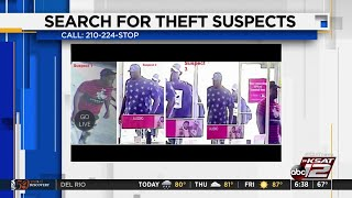 Police: 3 men steal cellphones, tablets from T-Mobile store
