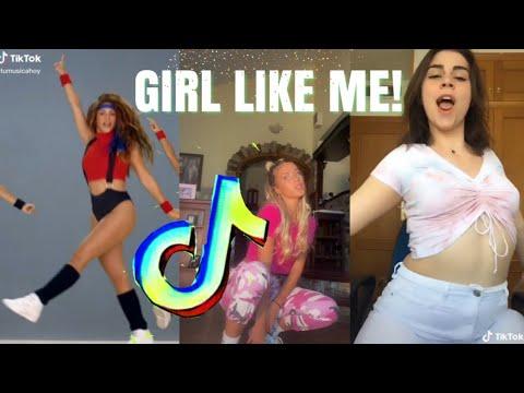 Black Eyed Peas & Shakira – GIRL LIKE ME TikTok Dance Challenge Compilation 2020