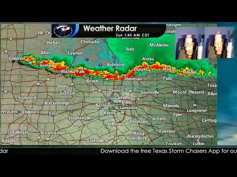 Texas Severe Weather Update | 1:40AM July 11, 2021