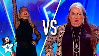 TOP WITCHES! Mandy VS Josephin on Britain's Got Talent | Magicians Got Talent
