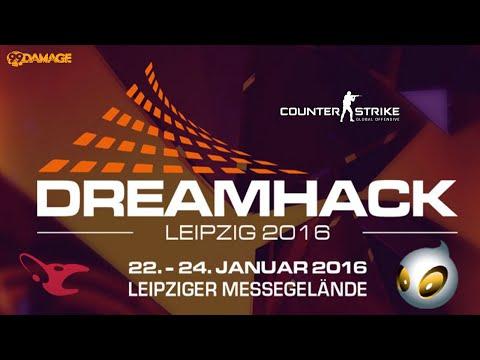 mousesports vs. Dignitas | Gruppe B, DreamHack Leipzig 2016 | de_cobblestone Map 1
