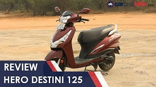 Hero Destini 125 Review   NDTV carandbike