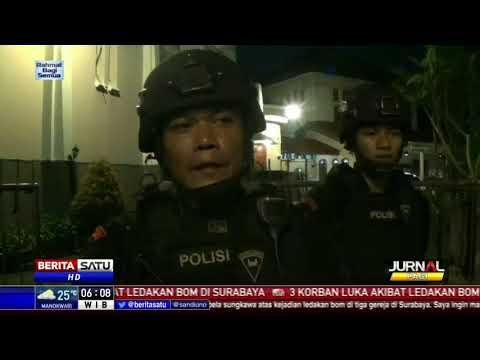 Tim Jihandak Bom Sterilisasi Gereja di Kota Malang