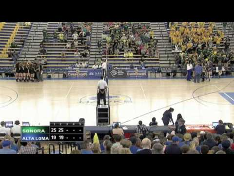 Alta Loma High School Girls Volleyball CIF STATE FINALS 2014 Div. 4