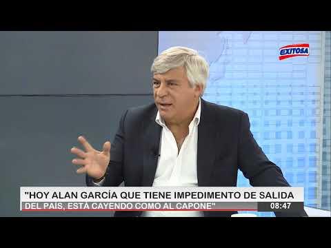 Popy Olivera pide un cerco humano para que Alan García no pueda escapar