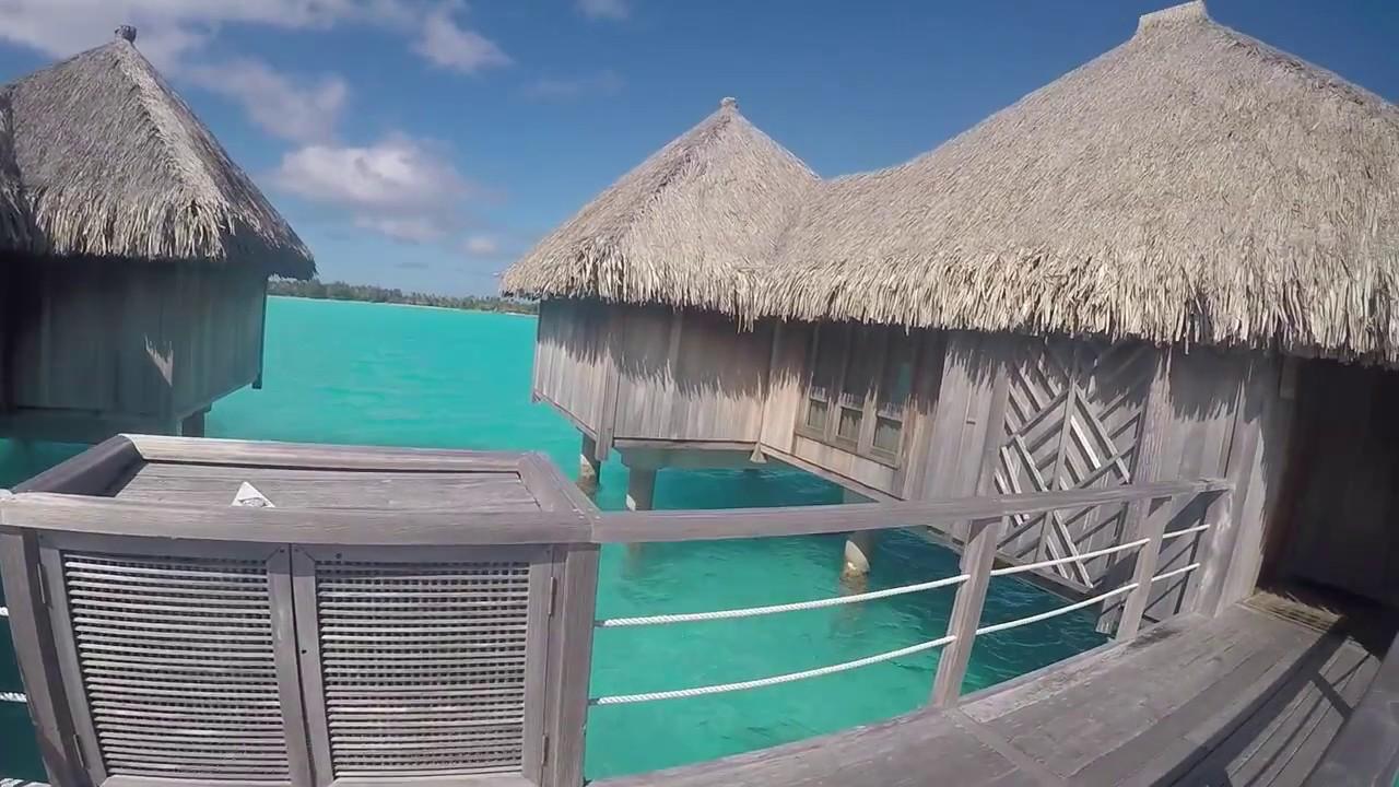 St. Regis Bora Bora Superior Overwater Bungalow Tour - YouTube