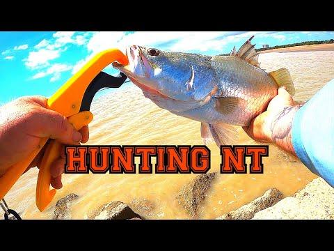 Darwin City Land Based Barramundi Fishing
