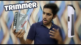 Cheapest Trimmer For Men Unboxing | Best Trimmer Ever | 2018