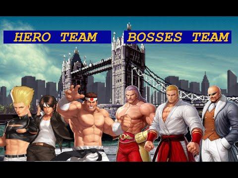 Hero Team vs Boss Team