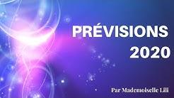 Prévisions 2020 par Mademoiselle Lili Astrologue