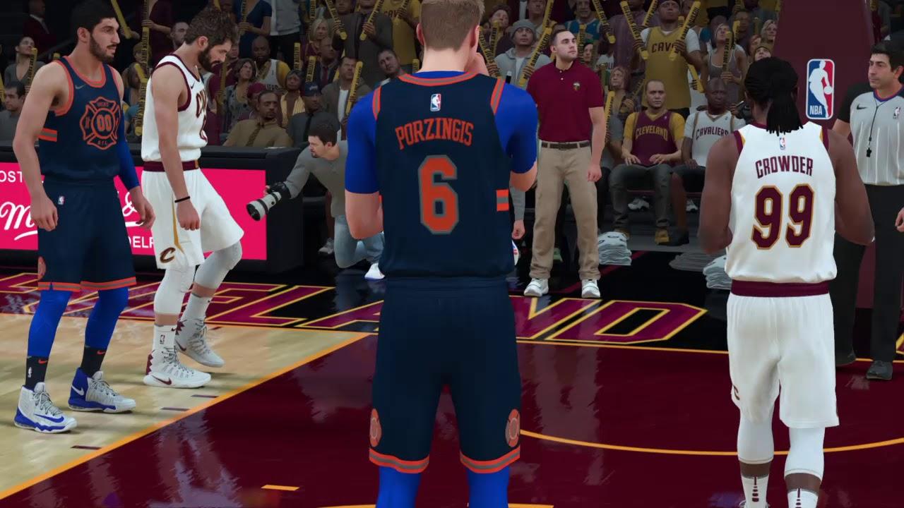NEW (New York Knicks) 2018 Away Jersey NBA 2K18 - YouTube cabbcb34e