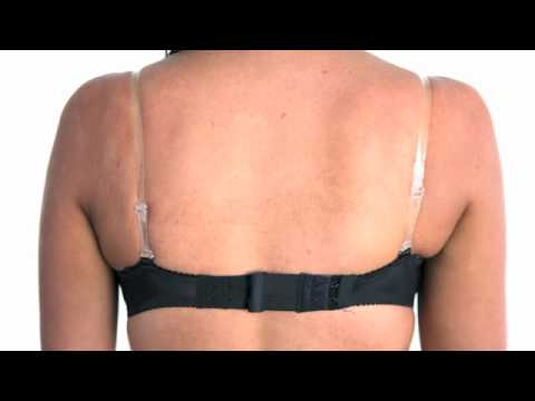 Lady Transparent Invisible Adjustable Clear Bra Strap from YouTube · Duration:  8 seconds