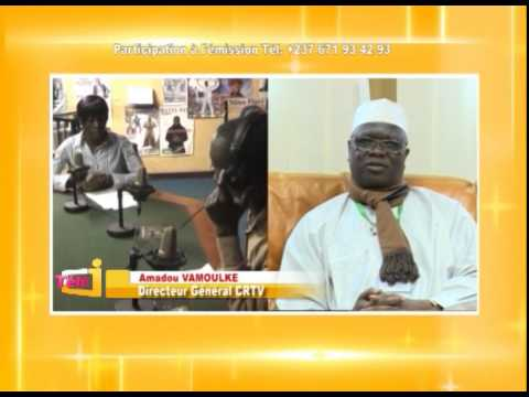 Télé J  56 Stages vacance CRTV , reportage YES Cameroun