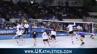 Kentucky Wildcats TV: Kentucky Volleyball vs Lipscomb 9/18/14