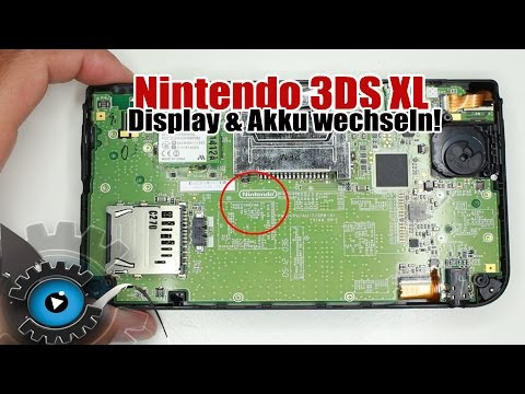 Nintendo 3DS XL Display & Akku Wechseln Tauschen Reparatur Review/Unboxing [Deutsch] Disassembly
