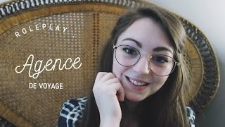 FRENCH ASMR ♡ [Roleplay] I bring you on a trip ♡ (2)