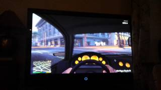 Gta V first person mode shoot to police and escape