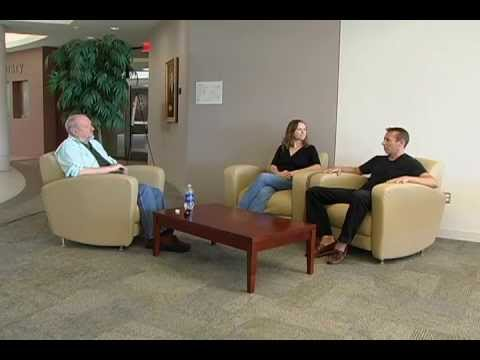 Dr. Tom Wright with Sam and Kathy Taylor