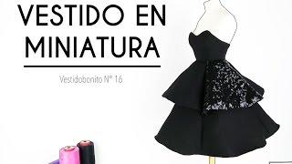 CREANDO EL VESTIDO EN MINIATURA Nº 16 - Skarlett Costura