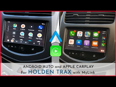 Holden Trax - Apple CarPlay & Android Auto Integrated On MyLink