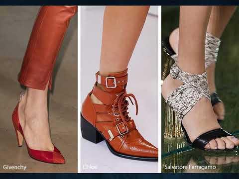2018 İlkbahar-Yaz Bayan Ayakkabı Trendleri