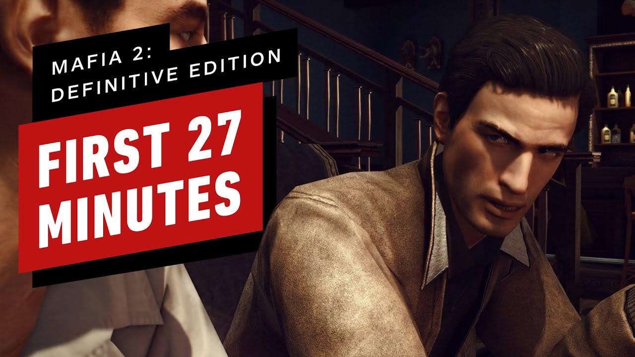 Los primeros 27 minutos de Mafia 2: juego de edición definitiva (4K 60FPS) + vídeo
