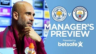 connectYoutube - AGUERO IS FIT & READY | Leicester City v City | Press Conference | Premier League 2017-18