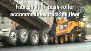 Cat® AP1000E / AP1055E Pavers Machine Introduction