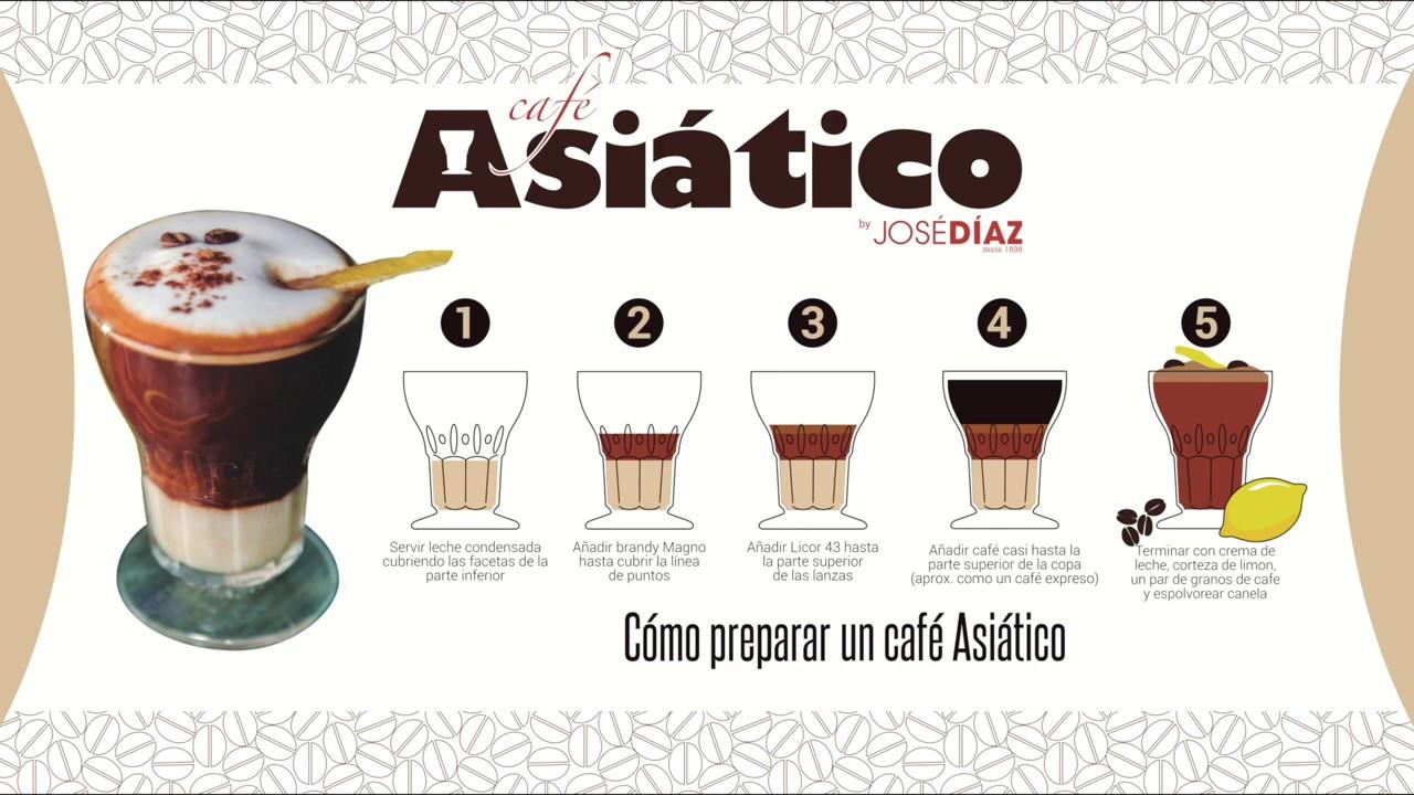 Café Asiático: La receta está en la copa