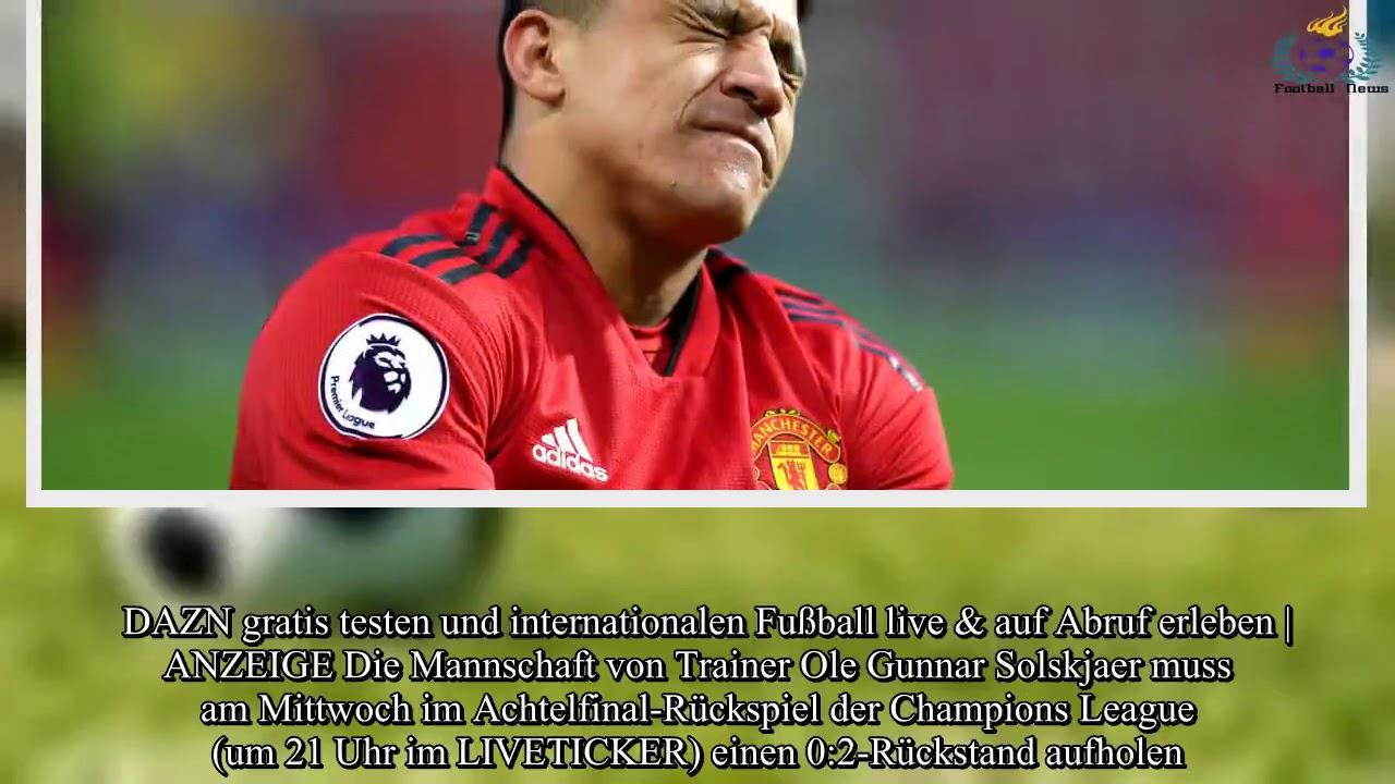 Champions League Alexis Sanchez Von Manchester United Am