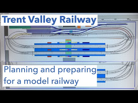 Planning And Preparing For A Model Railway - Trent Valley Railway #17