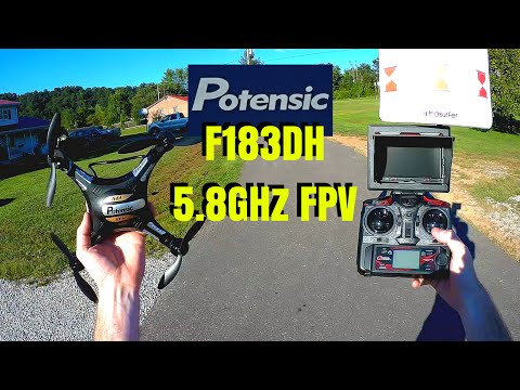 Potensic F183DH 5.8GHz FPV with Altitude Hold!