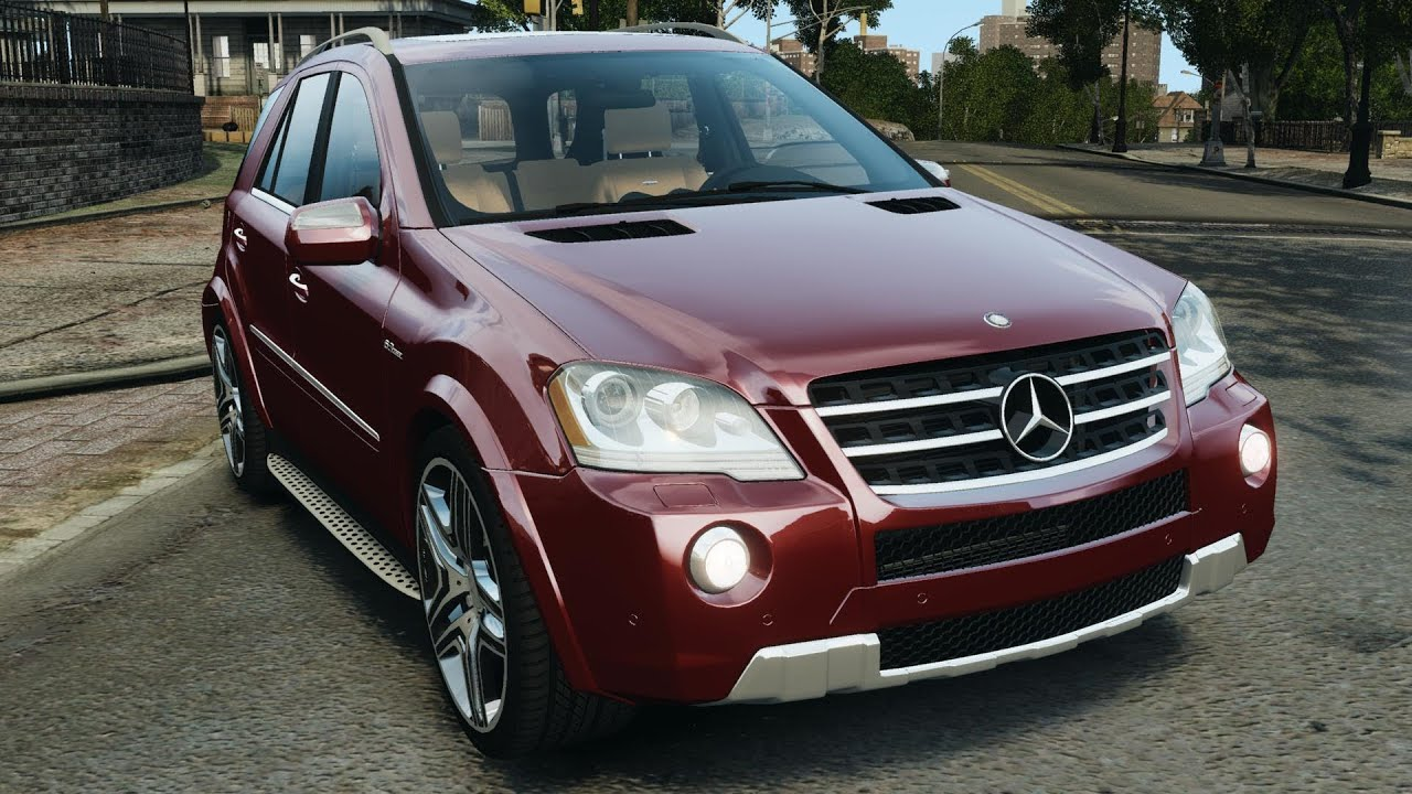 mercedes benz ml63 amg 2009 for gta 4 youtube. Black Bedroom Furniture Sets. Home Design Ideas