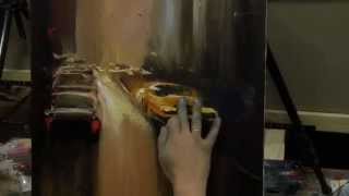 Научиться писать маслом городской пейзаж, уроки рисунка и живописи в Москве и Питере